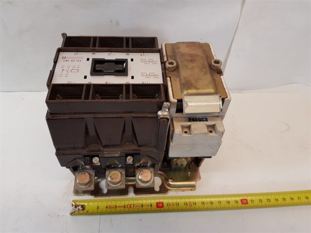 Telemecanique CN1-GC-133  Contactor 3-pole 240VAC/50Hz 288VAC/60CY 125A - Good