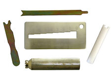 Kwikset Rekey Cylinder Removalkey Gauge Decodercap Removerclampfollower Tool