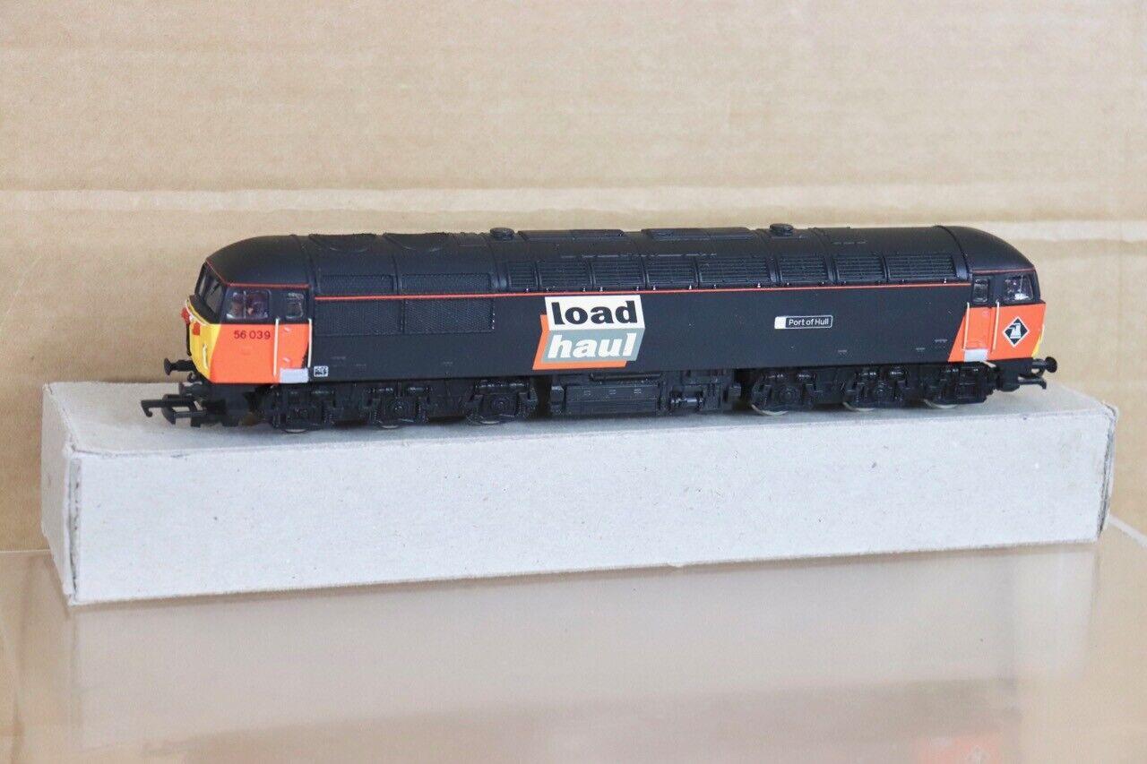 Mainline Re Pintado Br Cochega Haul Clase 56 Diesel Loco 56039 Puerto de Hull NT