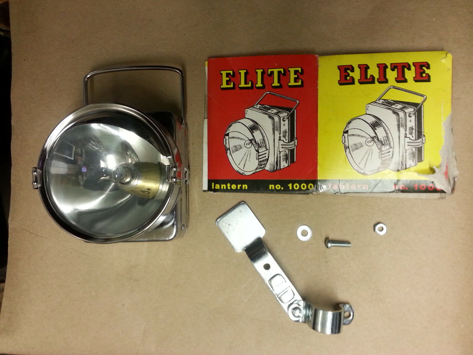 669A Lantern style Bicycle Headlight NOS