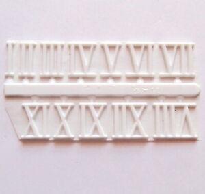 Clock Dials 19mm Adhesive CLOCK NUMBERS Roman Numerals For Clock Making