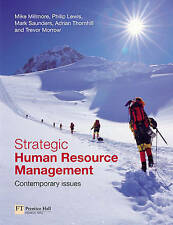 Strategic Human Resource Management: Contemporary Issues by Trevor Morrow,...