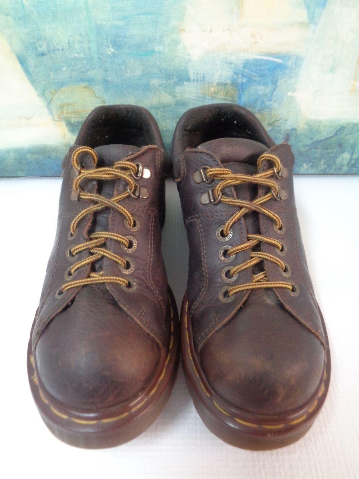Doc (Dr.) Martens Brown Leather Lace Ups UK7, USM8, USL9   Style   8312