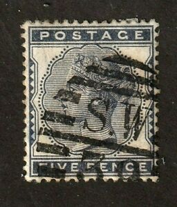 Great-Britain-stamp-85-used-Queen-Victoria-SCV-125