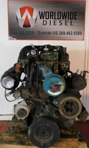 1982-Cummins-Big-Cam-II-Diesel-Engine-270HP-Good-For-Rebuild-Only