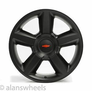 4 New Chevy Suburban Tahoe Ltz Matte Black 20 Quot Wheels Rims