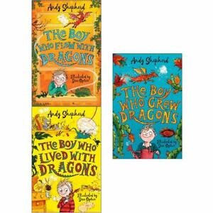 Boy-Who-Grew-Dragons-By-Andy-Shepherd-3-Books-Collection-Set-Child-Paperback-NEW