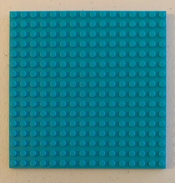 - You Pick The Color Quantity of 3 Preowned Lego 16x16 Studded Base Plates