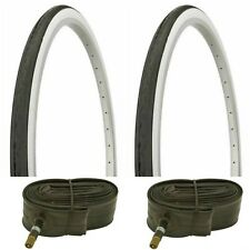 Bicycle Tires double redlined+ DURO 26 x 1 3//8 2 37-590 Tubes 2 TWO