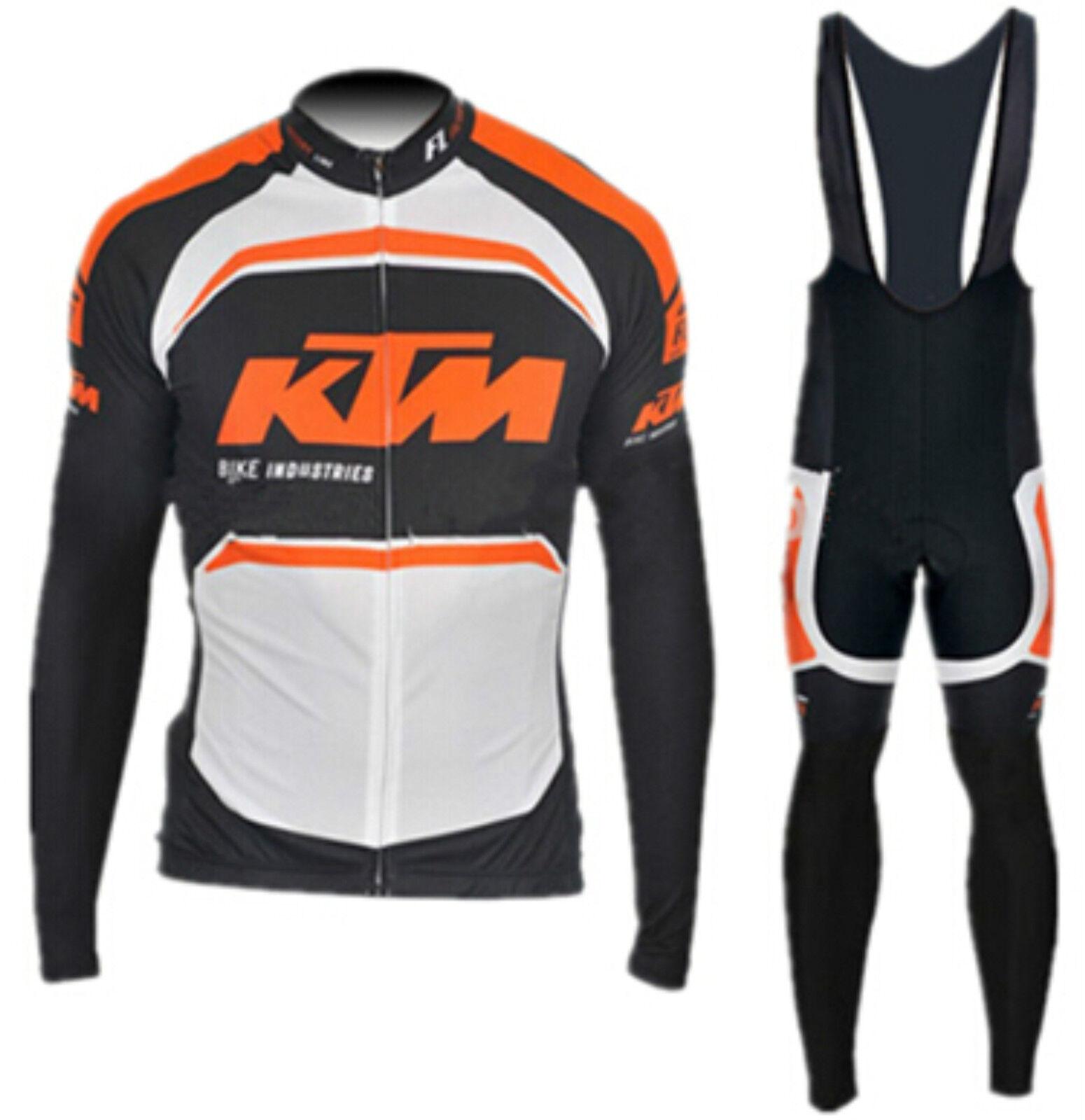 Ropa de cicilsimo KTM - Lanzamiento Maillot, culote, LARGO
