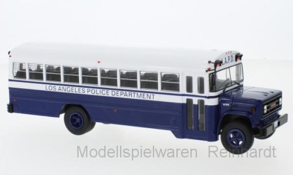1 43 IXO GMC 6000 Police-Police Department 1988 Bus 017