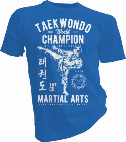 Taekwondo sono l/'arma arti marziali legittima difesa Cinture Per Adulti /& Bambini T-shirt