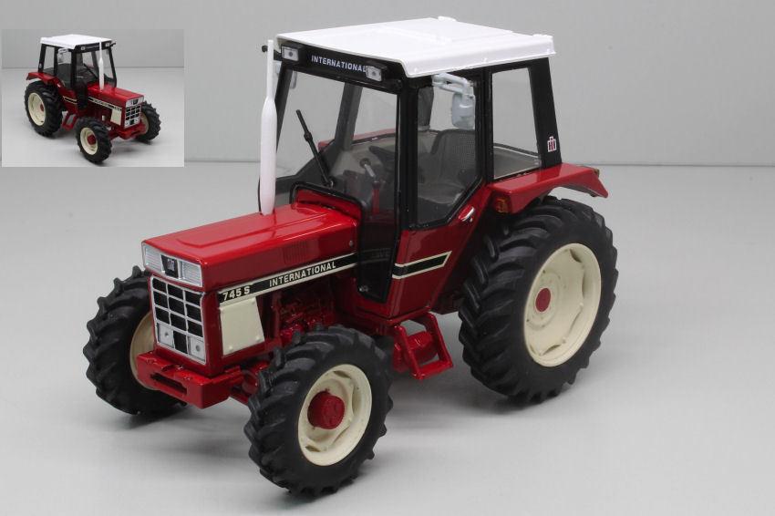 IH 745S Trattore Tractor 1 32 Model REPLICAGRI
