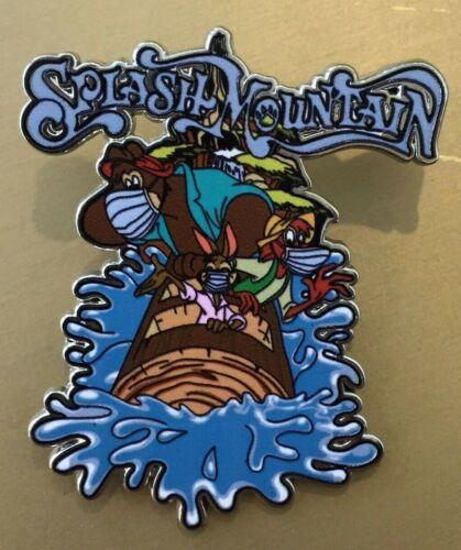 Disney/'s Splash Mountain Brer Rabbit Fox Bear in Mask fantasy pin 2020 pin