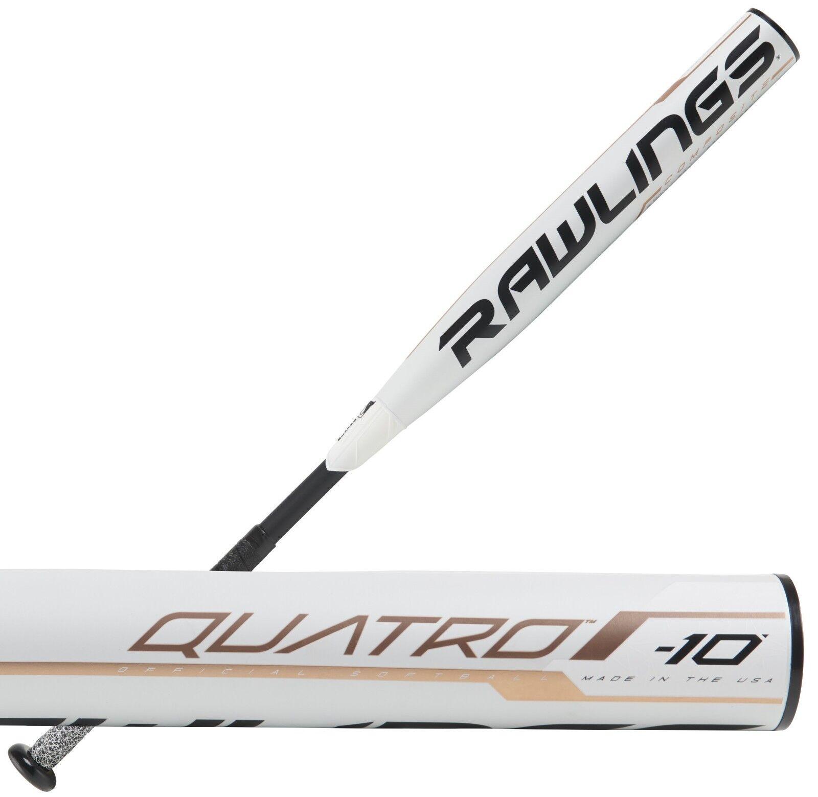 2019 Rawlings Quatro -10 30  20 OZ Para Mujer Fastpitch Softball Bat FP9Q10