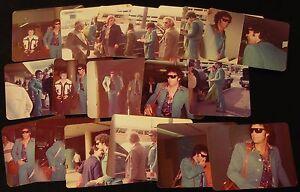 Set-of-17-UNPUBLISHED-Tom-Jones-Photos-Las-Vegas-Airport-amp-Caesars-Palace-1975