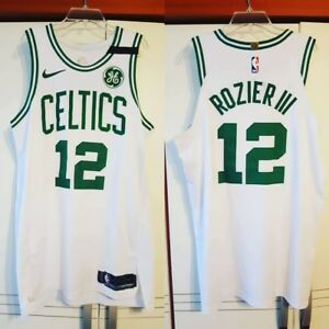 sneakers for cheap 0afb9 7d5da Details about Terry Rozier 2018 NBA Playoffs Boston Celtics Nike Game Worn  Jersey Meigray COA