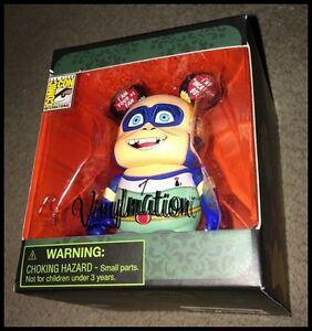 Details about DISNEY VINYLMATION SDCC 2014 Pixar Villains INCREDIBOY-  INCREDIBLES RARE! NIB