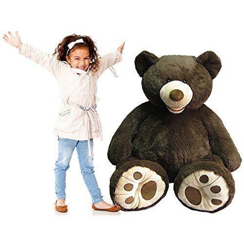 Hugfun 53  XL Large Sitting Plush Giant Teddy Bear Huge Cuddly Kids Toy Gift