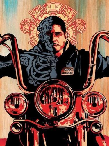 "Mayans M.C Bikers Kurt Sutter TV Series Poster Art Print 13x20/"" 24x36/"" 27x40/"""