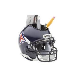 90e78f7c Details about Arizona Wildcats (Navy) NCAA Football Schutt Mini Helmet Desk  Caddy