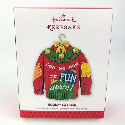 "2013 Hallmark Keepsake Ornament ""Holiday Sweater ..."