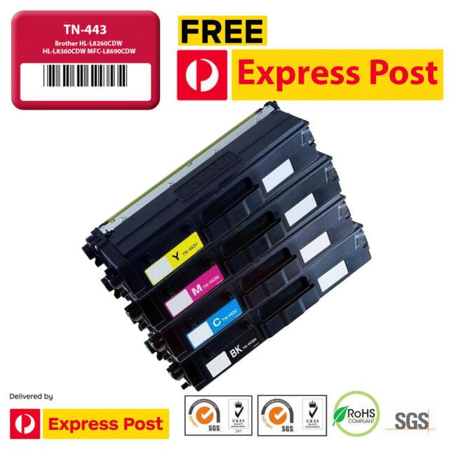 TN-443 TN443 Toner Cartridge for Brother HL-L8260CDW HL-L8360CDW MFC-L8690CDW