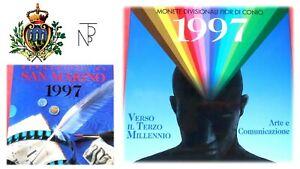 Candide San Marino (l'uomo Verso Il Iii Millennio) Serie Divisionale 1997