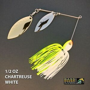 Bassdozer-spinnerbaits-1-2-oz-CHARTREUSE-WHITE-spinnerbait-spinner-bait-baits