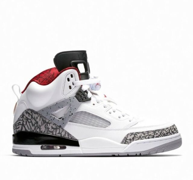 official photos add7f 1234a Nike Air Jordan Spizike OG White Cement 4 Free Throw Line 3 Black 88 NRG JTH