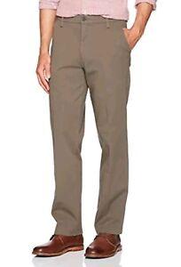 519986f668 Dockers Mens Workday Khaki Slim Tapered Fit Pants Smart 360 Flex ...