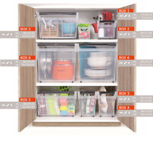 Clear-Plastic-Storage-Box-Containers-Practical-Wardrobe-Organiser-with-Wheels