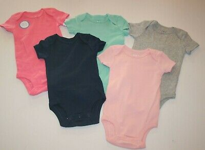 New Carter/'s Girls 4 Pack Swan Bird Bodysuits Tops NWT NB 3m 6m 9m 12m 18m 24m