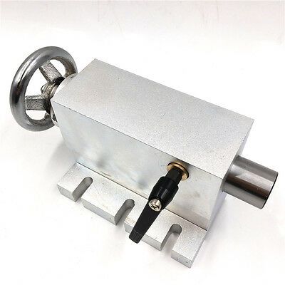 MT2  Morse Taper NO.2 Shaft Tailstock CNC Router Tail Stock for Rotary Table