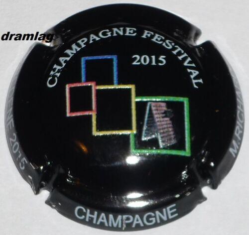 n°27a en relief Capsule de Champagne: New !! RICHARD M Festival  BREDENE 2015