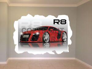 Huge-Koolart-Cartoon-Audi-R8-Wall-Sticker-Poster-Mural-2926