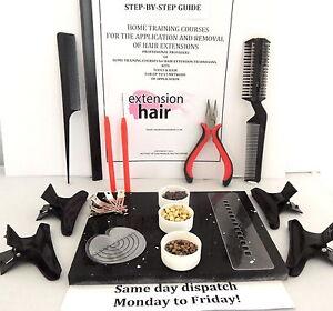 cheveux-manuel-etape-par-complet-Kit-de-bricolage-x-Step-MANUEL-App