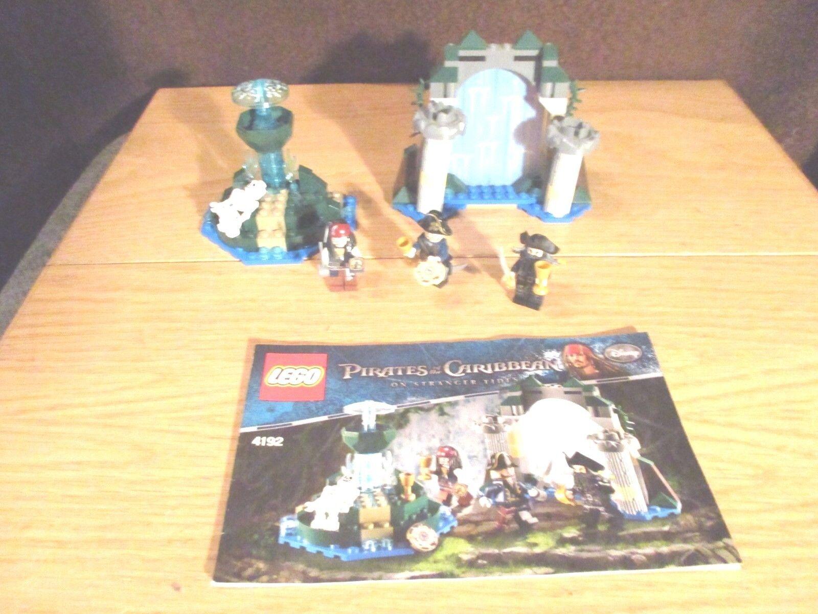 LEGO -  4192 Pirates of the autoibbean-fonte della gioventù eterna  punto vendita