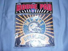 NFL VINTAGE 90's MiamI Dolphins Mouse Pad Marino Florida Football Computer
