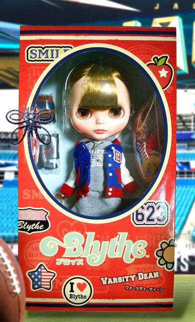 Envío Gratis Varsity Dean Neo Blythe Doll 12  Takara Hasbro CWC Shop Limitada