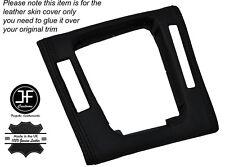 Negro Stitch Gear envolvente Ribete Cuero Skin Cover Para Bmw Serie 3 E46 98-05