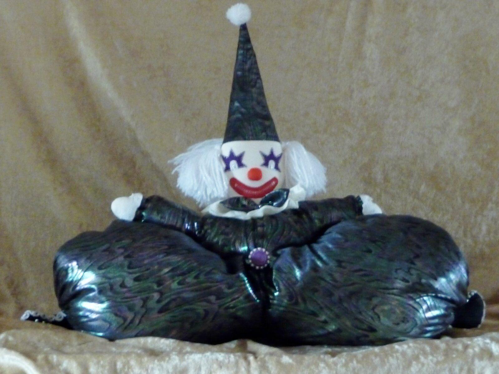 Clown Harlekin 100% Handarbeit Unikat selbst genähtin genähtin genähtin Farben MADE IN GERMANY ecdf1c
