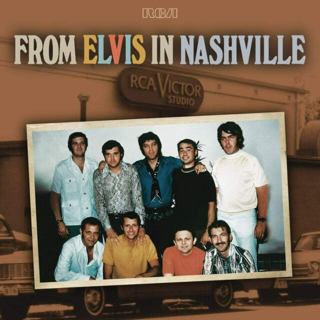 ELVIS PRESLEY - FROM ELVIS IN NASHVILLE [CD]