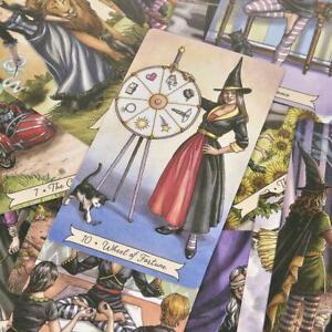 Tarot-De-La-Sorciere-De-Tous-Les-Jours-Par-Deborah-Blake-Anglais-78pcs-set