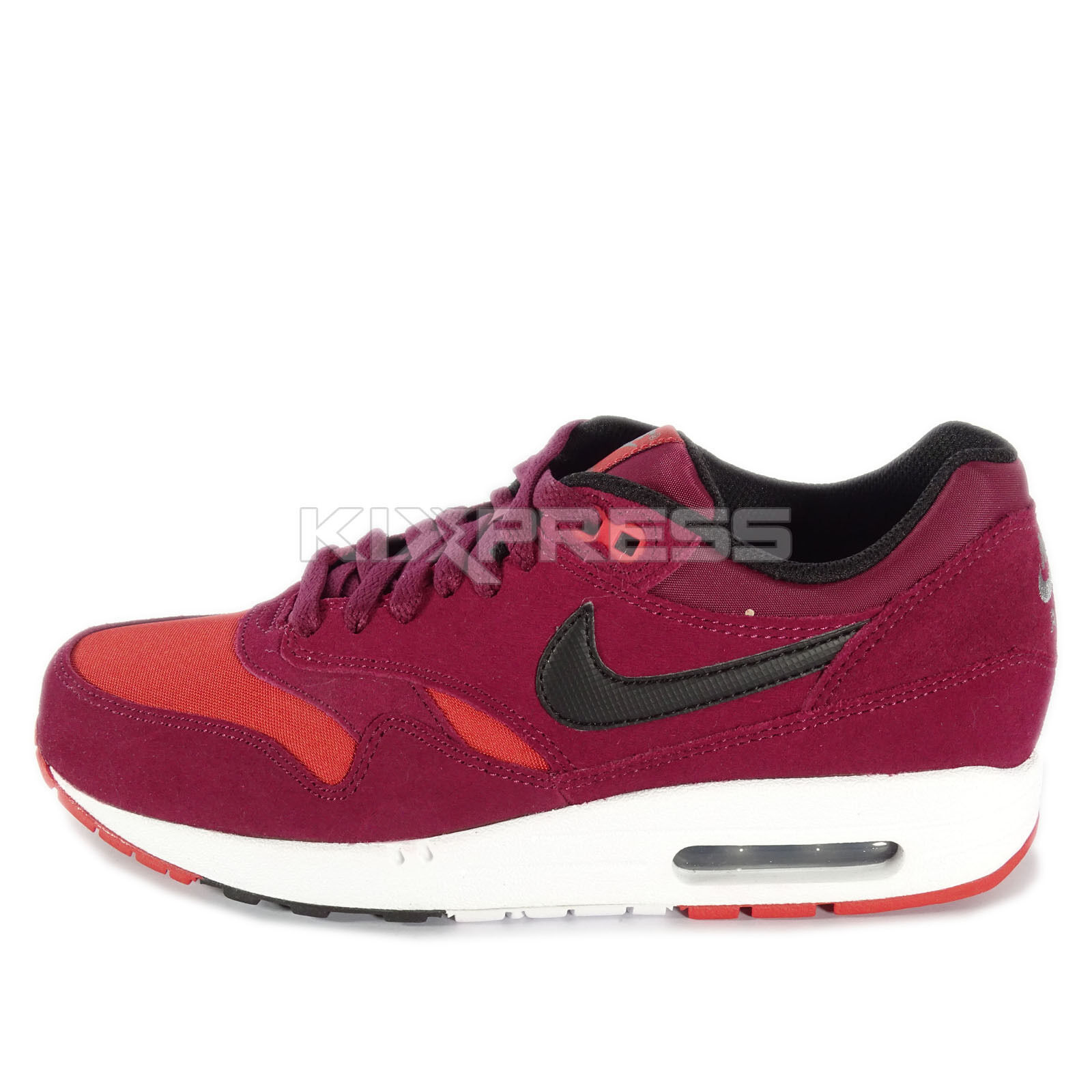 Nike Air Max 1 Essential Price reduction NSW Running Deep Garnet/Black Cheap and beautiful fashion