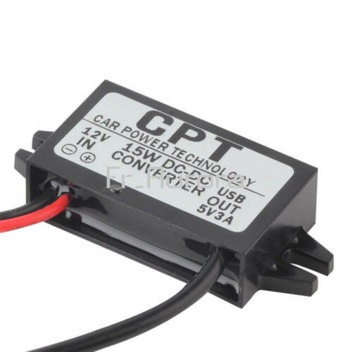 6 Kinds DC-DC 12V to 5V Mini//Micro//A type USB Converter Step Down Power Adapter