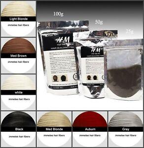 Hair-Loss-Repair-Treatment-Natural-Keratin-Powder-Light-Dark-Brown-Color-50g
