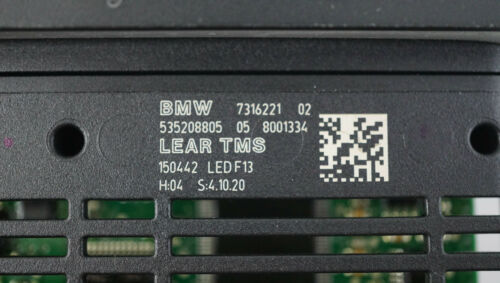 63117316221 NEW OEM BMW 6 SERIES F12 F13 LEAR TMS FULL LED MODULE ECU 7316221