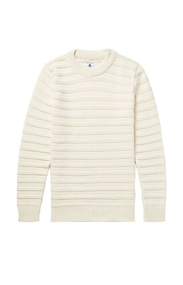Arpenteur Malo Wool Ivory Sweater Größe Large Made In France NWOT