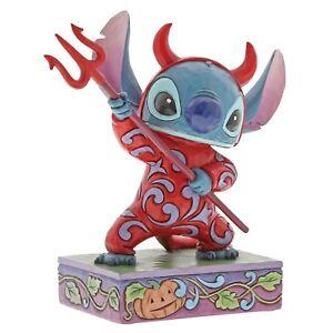 Disney-Traditions-Devilish-Delight-Stitch-Figurine-Ornament-15cm-6000951-New
